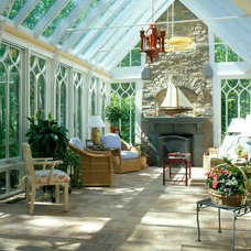 Traditional Living Room by Town and Country Conservatories