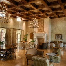 mediterranean living room by Gabriel Builders Inc.