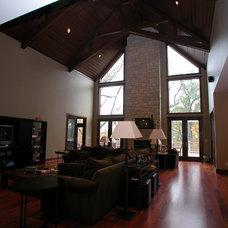 Traditional Living Room by Besch Design, Ltd.
