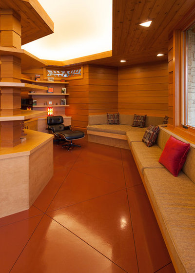 Houzz Tour Usonian Inspired Home With All The Wright Moves