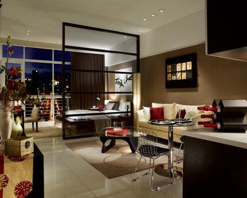 Best asian living room design ideas remodel pictures houzz for Joop living room 007