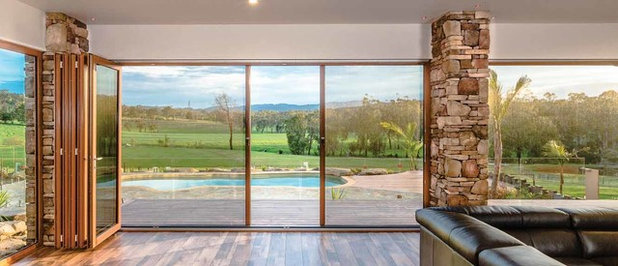 Living Room by Freedom Retractable Screens of Australia