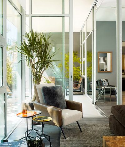 Modern Living Room by Incorporated
