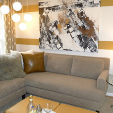 Modern Living Room by Carlyn And Company Interiors + Design