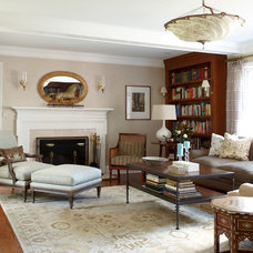 Traditional Living Room by Palladio Interior Design & Wallace J. Toscano AIA