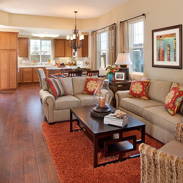 Galley style living space