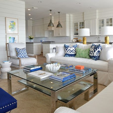 Beach Style Living Room by Munger Interiors
