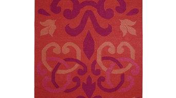 Gandia Blasco Arabesco Red Modern Rug