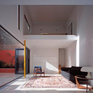 Scandinavian living room in London.