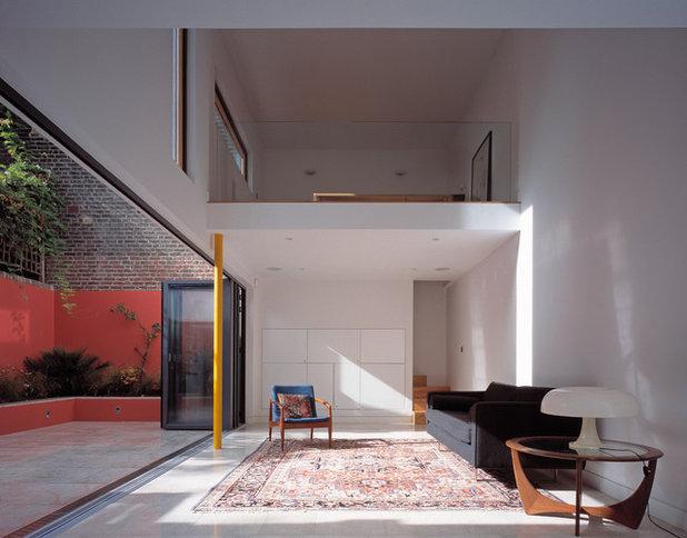 Scandinavian Living Room by Pitman Tozer Architects