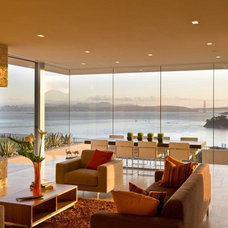 Modern Living Room by Jamba Construction
