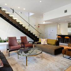 Contemporary Living Room by Hudson Place Realty