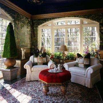 Garden Sun Room at Aurbach Mansion
