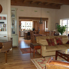 Traditional Living Room by architectural alliance inc