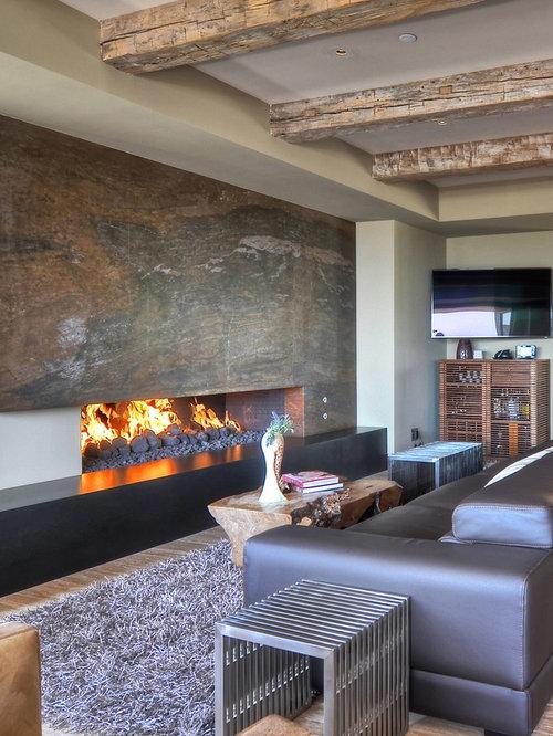 Basement Fireplace Options | Houzz