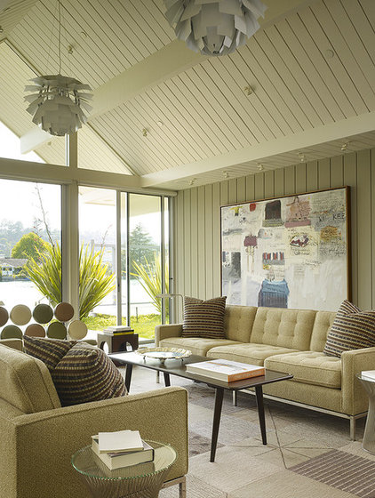 contemporary living room by Gary Hutton