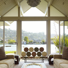 Midcentury Living Room by Gary Hutton Design