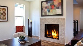 Gas Burning Fireplaces