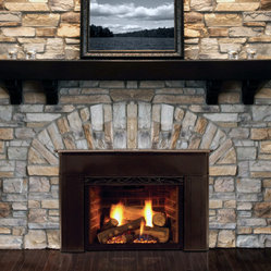 Gas Fireplace Inserts Inserts Are Engineered To Fit Into Existing Wood Burning Fireplace