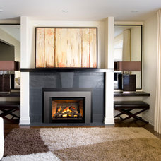 Contemporary Fireplaces by OKELL'S FIREPLACE