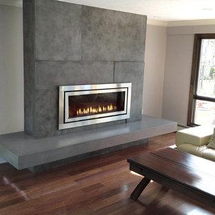 Charmant Gas Fireplace Surround | Houzz