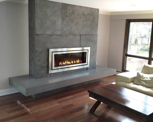 Houzz | Gas Fireplace Surround Design Ideas & Remodel Pictures