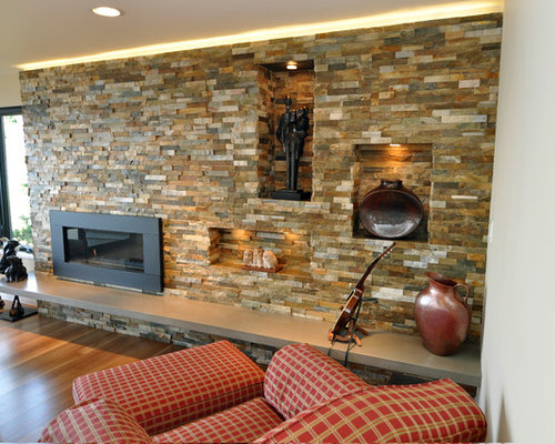 SaveEmail - Best Gas Fireplace Surround Design Ideas & Remodel Pictures Houzz
