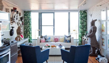 Room of the Day: A World Traveler's Eclectic Loft