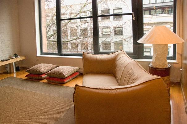 Eclectic Living Room by Heather Merenda