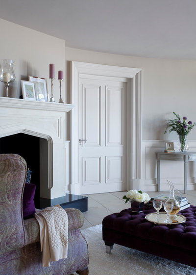 Country Living Room by Woodmarque Joinery