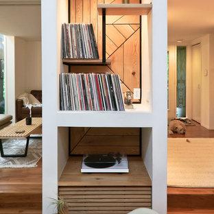 Ispirazione per un piccolo soggiorno minimalista chiuso