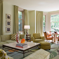 Traditional Living Room by Jones & Boer Architects, Inc.