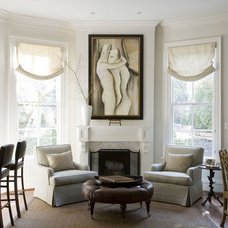 Traditional Living Room by Patrick Sutton Associates