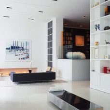 Contemporary Living Room by Shinberg Levinas Architectural Design