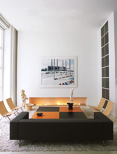 Contemporain Salon by Shinberg Levinas Architectural Design