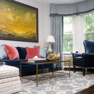 Living room - transitional formal living room idea in DC Metro