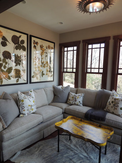Traditional Living Room by Schilling & Company