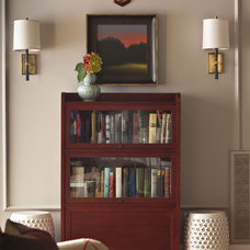 Traditional Living Room by Heather Garrett Design