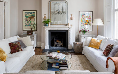 Houzz Tour: Soft Tones Freshen a Beautiful Georgian Home