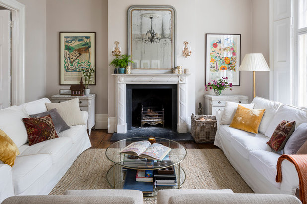 Traditional Living Room by Imperfect Interiors