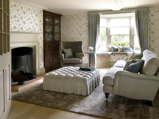 Country Living Room by Oliver Bea Design Ltd