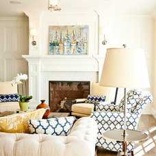 Traditional Living Room by Cyndi Parker Interiors