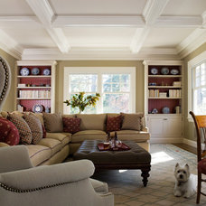 Traditional Living Room by EJ Interior Design, Eugenia Jesberg