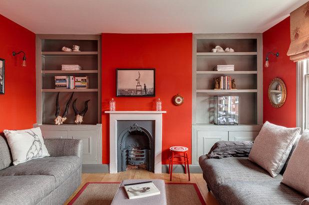 Klassisch modern Wohnbereich by Arq-A Interiors Limited