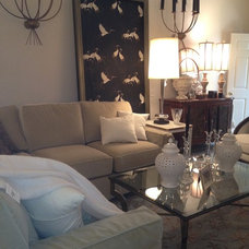 Eclectic Living Room by G Design LLC