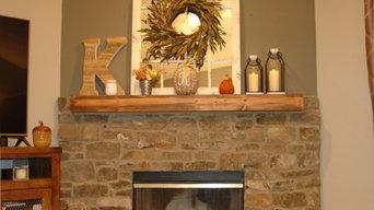Gina's fireplace
