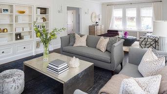 Girard Avenue Living Room
