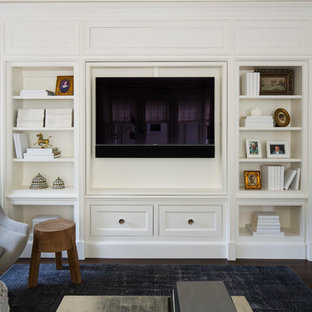 Girard Avenue Living Room Rotating Bookcase