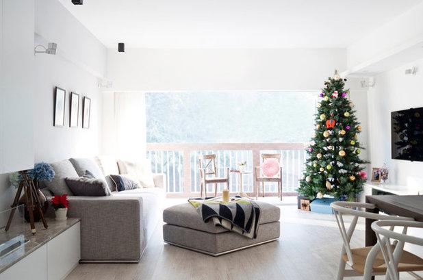 Moderno Salón by hoo Interior Design & Styling