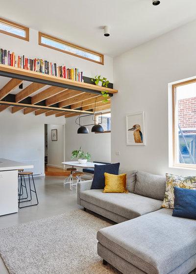 Contemporary Living Room by Altereco Design